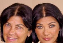 Ana Laura Ribas e Mr Daniel nel tutorial make up over 40