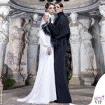 Elettra: Asia Argento e Anna-Lou Castoldi nel fashion movie Aelektra con abiti Antonio Grimaldi