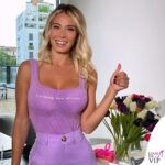 "Diletta Leotta body viola Zara ""Creating new dreams"" Creando nuovi sogni"