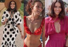 Paola Turani abito HM bikini Wikini Woxer abito Luisa Beccaria