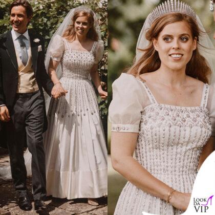 il matrimonio della principessa beatrice di york con edoardo mapelli mozzi
