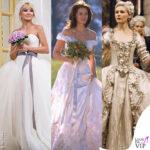 Kate Hudson Julia Roberts Kristen Dunst abito da sposa film Jennifer Lawrence