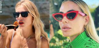 occhiali da sole delle star
