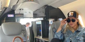 wanda nara a lisbona per la finale di champions con il jet privato