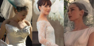 sarah jessica parker dakota johnson audrey hepburn abito da sposa
