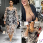 ashley graham sfila per fendi