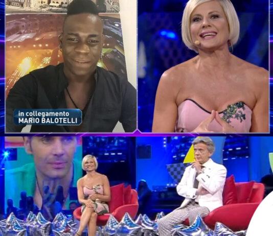 GF Vip 3 puntata Mario Balotelli Antonella Elia abito Gabriele Fiorucci
