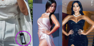 Georgina Rodriguez a Venezia 77 con outfit Ermanno Scervino, Pronovias, Lia Stublla