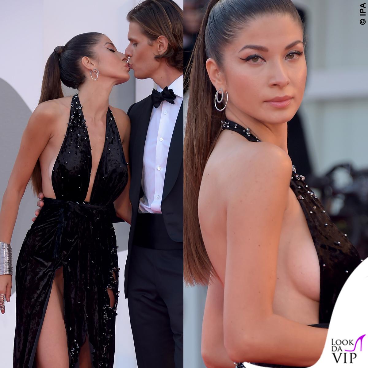 Matilde Gioli a Venezia 77: scollatura hot/ Nude look a
