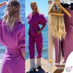 Temptation Island, Alessia Marcuzzi outfit Isabel Marant e la parrucca che le apllicherà Manuel