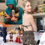 Chiara Ferragni Fedez 31mo compleanno personaggi Kaws