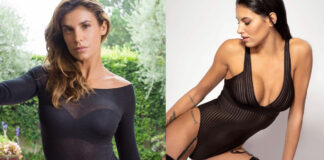 Elisabetta Canalis body Intimissimi carolina stramare body maison close giulia de lellis body tezenis