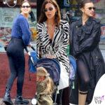 irina shayk per le strade di new york