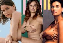 Laetitia Casta Vanessa Incontrada Demi Moore nuda copertina