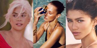 Zendaya Bella Hadid Karlie Kloss Lady Gaga profumo