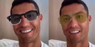 Cristiano Ronaldo lancia gli occhiali da sole CR7 con Lapo Elkann