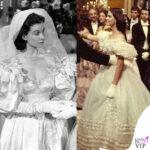 Lady diana spencer abito da sposa vivien leigh via col vento claudia cardinale il gattopardo