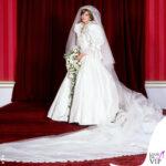 Lady diana spencer abito da sposa David ed Elizabeth Emanuel 2
