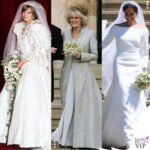 Royal wedding lady diana camilla meghan markle abito da sposa 1
