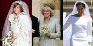 Royal wedding lady diana camilla meghan markle abito da sposa 1