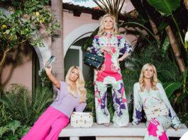 Paris Hilton Nicky Hilton Kathy Hilton outfit Valentino
