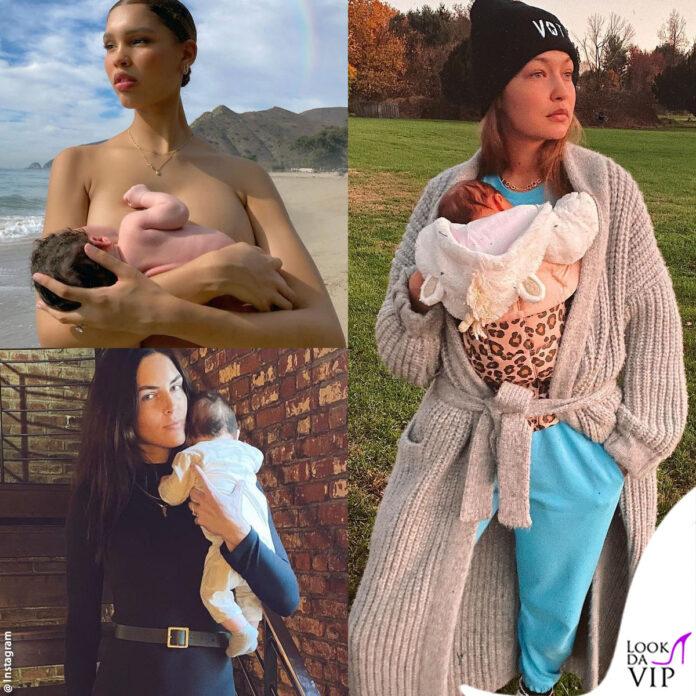 le modelle che sono diventate mamme nel 2020