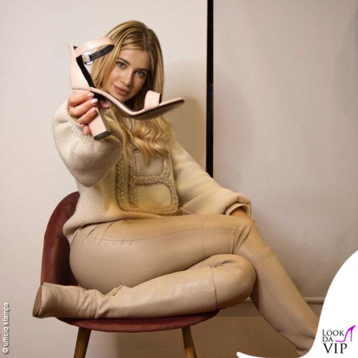 Clizia Incorvaia maglia Laura Biagiotti pantaloni Zara sandali Clizia World