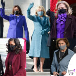 Inauguration Day Kamala Harris Jill Biden Hillary Clinton Laura Bush Michelle Obama cappotto