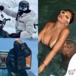 kendall e kylie jenner in vacanza a aspen