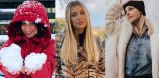 Laura Pausini piumino clizia incorvaia pelliccia anna tatangelo diletta leotta cappotto