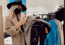 Wanda Nara total look Louis Vutton shopping Zara