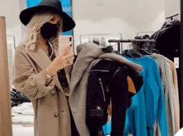 Wanda Nara total look Louis Vutton shopping Zara