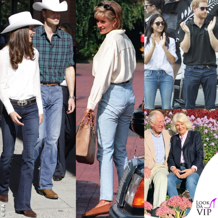 kate middleton principe william lady diana principe carlo Camilla Meghan Markle principe Harry jeans