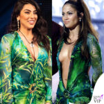 Giulia Salemi GF Vip 40 puntata abito jungle dress Versace: l'outfit di Jennifer Lopez