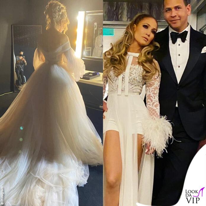jennifer lopez in abito da sposa infiamma il gossip