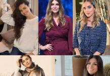 Laura Barriales Cristina Chiabotto Chiara Ferragni Martina Panagia Alessia Ventura Premaman