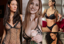 Intimo San Valentino: Marica Pellegrinelli Beatrice Valli Melissa Satta Raffaella Fico intimo