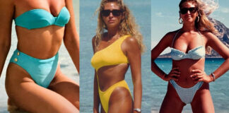 Marina Di Guardo mamma Chiara Ferragni bikini vintage