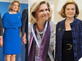 Serena Draghi look moglie Mario Draghi
