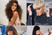 Hair style: Winnie Harlow global ambassador Paul Mitchell testimonial