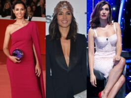 Caterina Balivo look: Stella McCartney Ralph Lauren Dolce Gabbana
