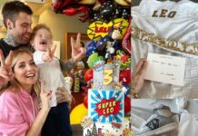 il compleanno di Leone, figlio di Chiara Ferragni e Fedez