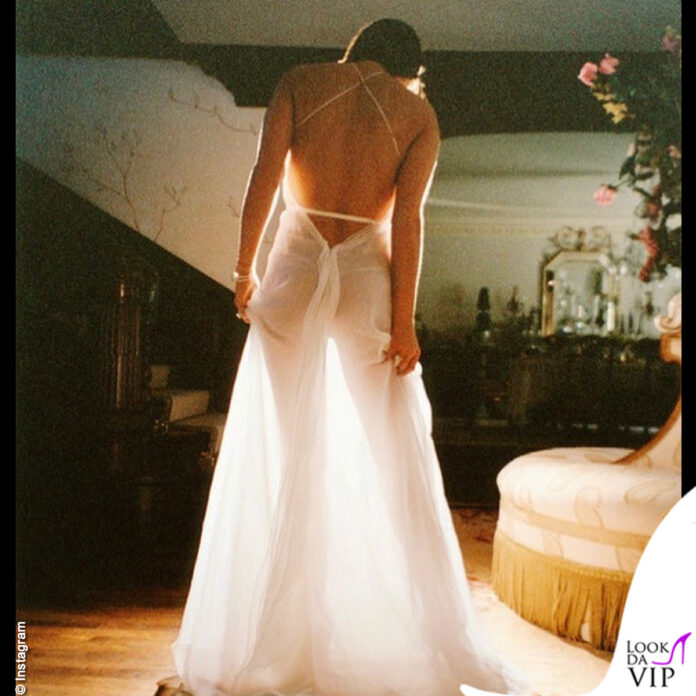 Demi Moore abito bianco