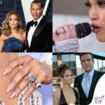 i cinque anelli di fidanzamento di jennifer lopez