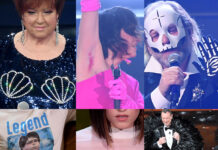 Sanremo 2021 2 serata dettagli strani Berti Rappresentanta Morti Maradona Gaia Amadeus