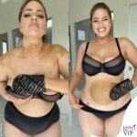 ashley graham si spalma di autoabbronzante e scatena le critiche