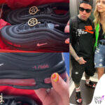 Fedez sneakers Nike Air Max 97 Satan Shoes