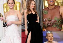Jennifer Lawrence Angelina Jolie Halle Barry Gwineth Paltrow Oscar