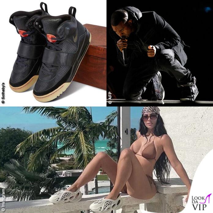 Kanye West Grammy Award 2008 sneakers Nike Air Yeezy 1 Grammy Worn - Kim Kardashian