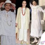 Carla Fracci sempre in bianco